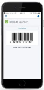 Barcode Scanning System Screenshot 1