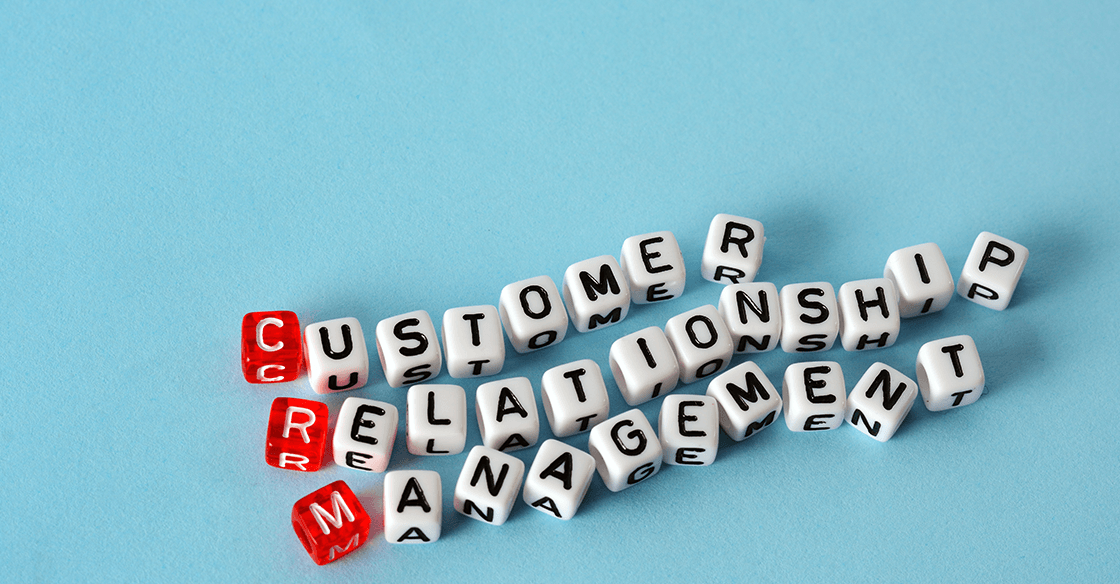 CRM customer relationship management blog header