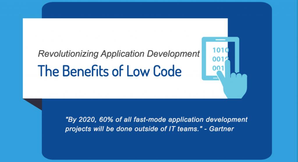 low code application development benefits